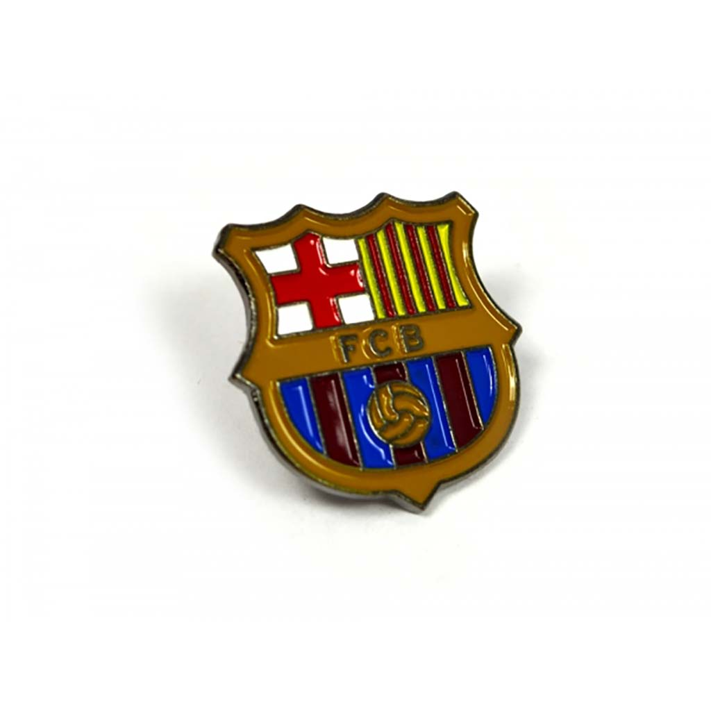 Epinglette pour fan de football du FC Barcelone