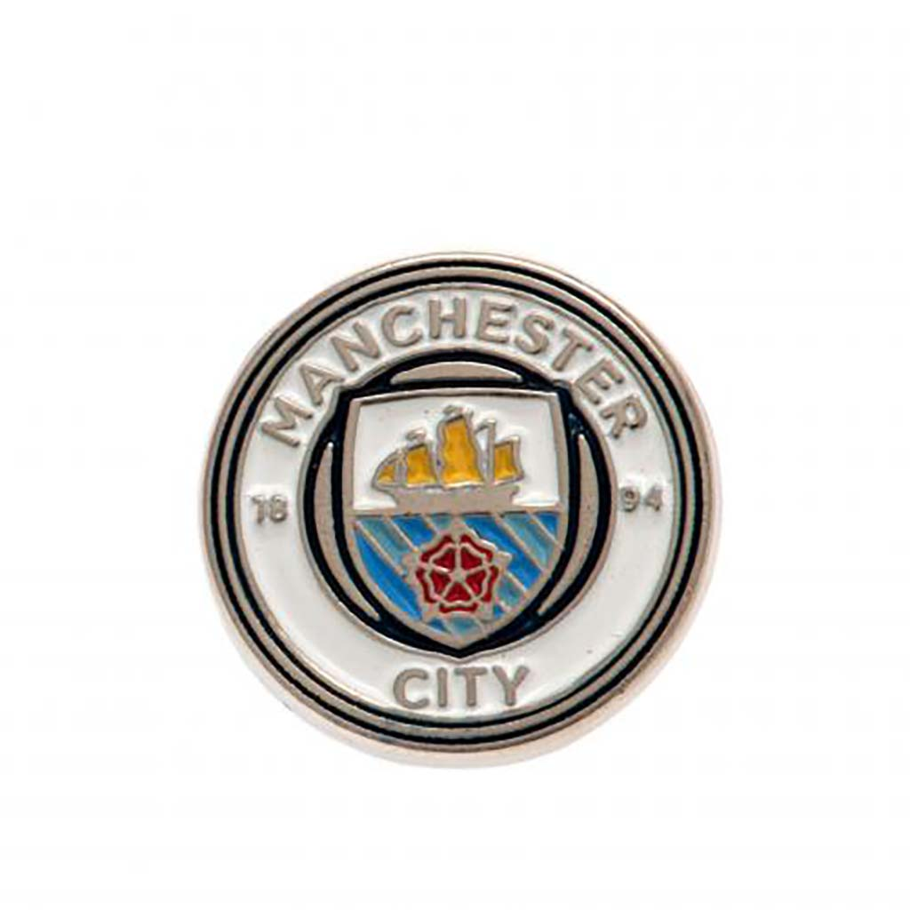 Epinglette pour fan de football du Manchester City FC