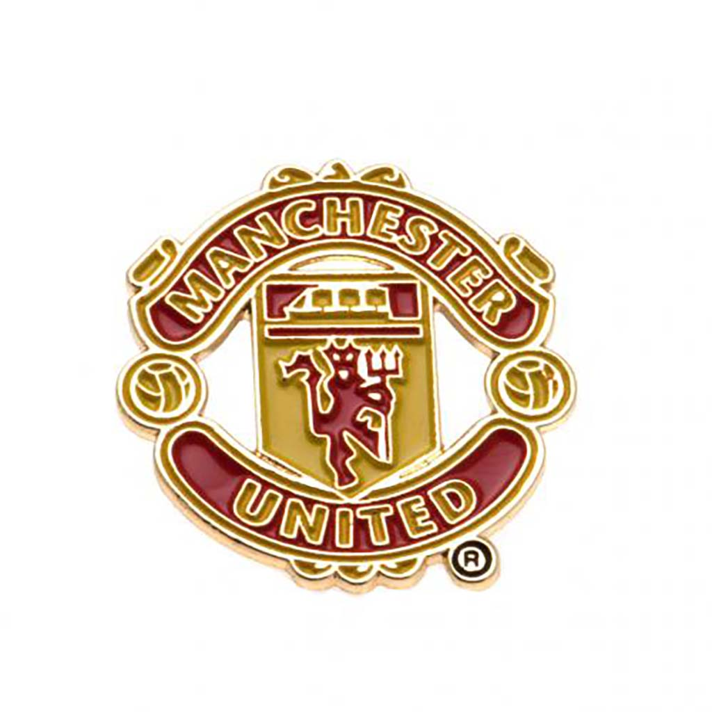 Epinglette pour fan de football du Manchester United FC