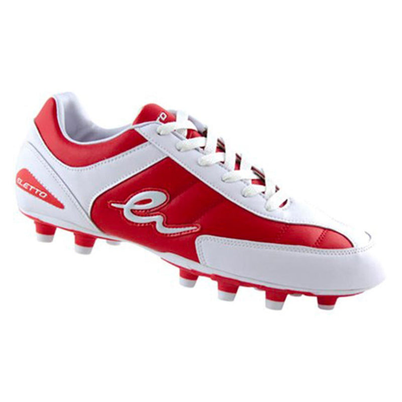 soulier soccer eletto toka pu junior os-1201 rouge blanc