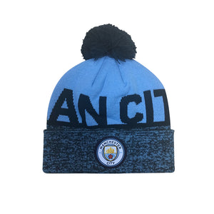 Tuque du club de football Manchester City FC