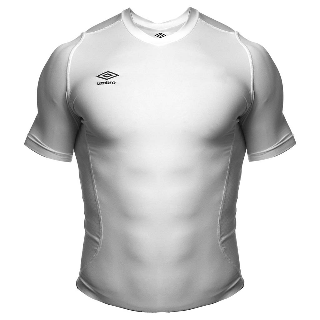 T-shirt compression sport Umbro blanc