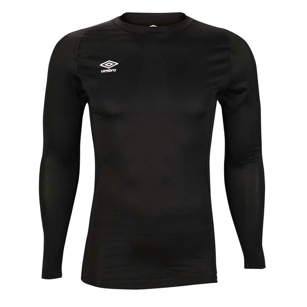 Umbro Crew LS Baselayer black