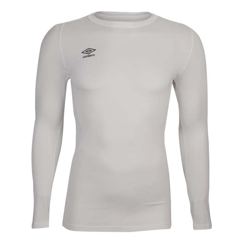 Umbro Crew LS Baselayer white