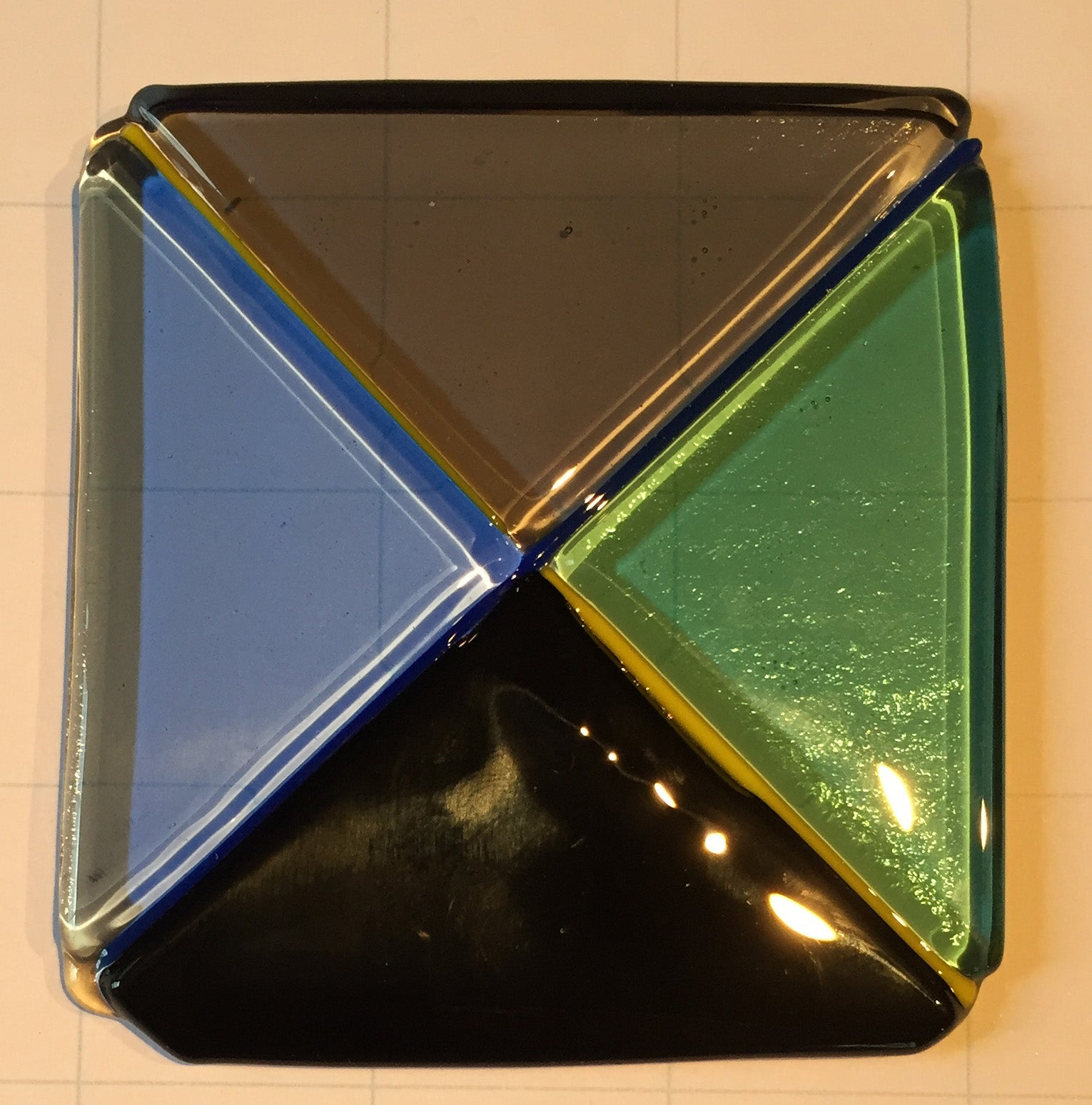 4-Triangles Coaster