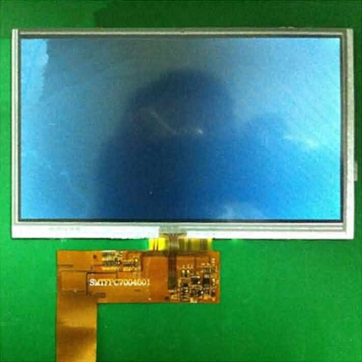 7 inch Color TFT LCD Display with Parallel or Serial Interface