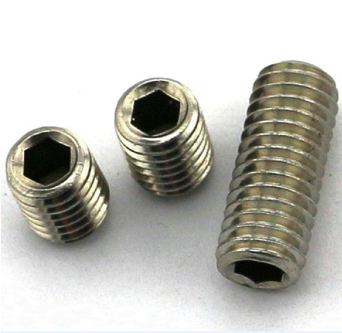 Firgelli Robots Hex Socket Set Screw - M2.5 * 2 ~ 12 Stainless Steel