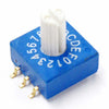 Firgelli Robots 3:3 Through-hole Rotary / SMD DIP Switch - 16 Position Shaft Type