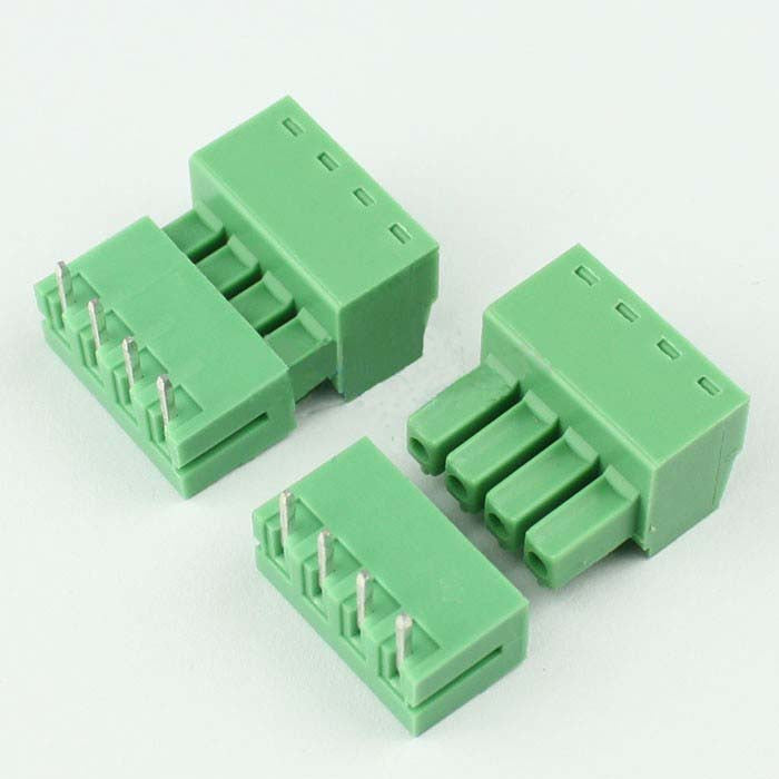 Firgelli Robots 2EDG Screw Terminal Block Connectors in Pair - Pitch: 3.81mm - Right Angle Pin