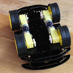 2 Deck 4 Wheel Robotic Chassis Kit