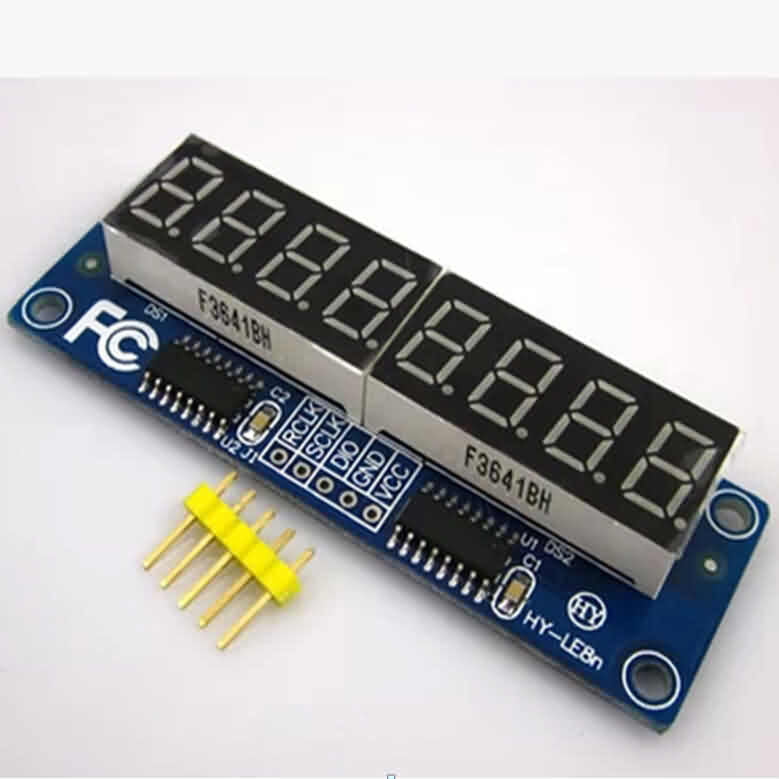 Firgelli Robots 7-segment 8-digit LED Display Kit - Common Anode