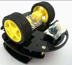 3 Wheel 3 Deck Robotic Chassis Kit Bottom