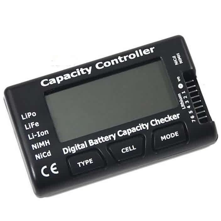 Firgelli Robots RC CellMeter - 7 Digital Battery Capacity Checker