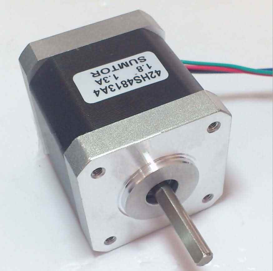 Firgelli Robots 2-Phase 4 Wire Stepper Motor - 42*42*48mm