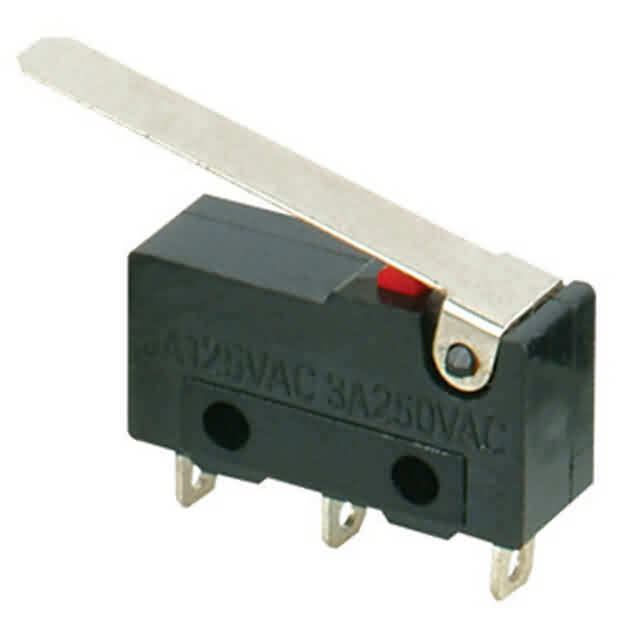 Firgelli Robots Snap-Action Switch with 23mm Lever: 3-Pin / SPDT / 5A