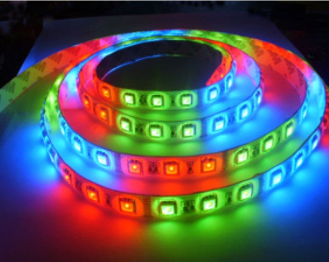 Firgelli Robots Waterproof 3 Chip RGB SMD LED 5050 Strip Kit