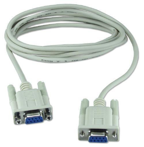 Firgelli Robots Female to Female RS232 Adapter Cable - 9 Pin