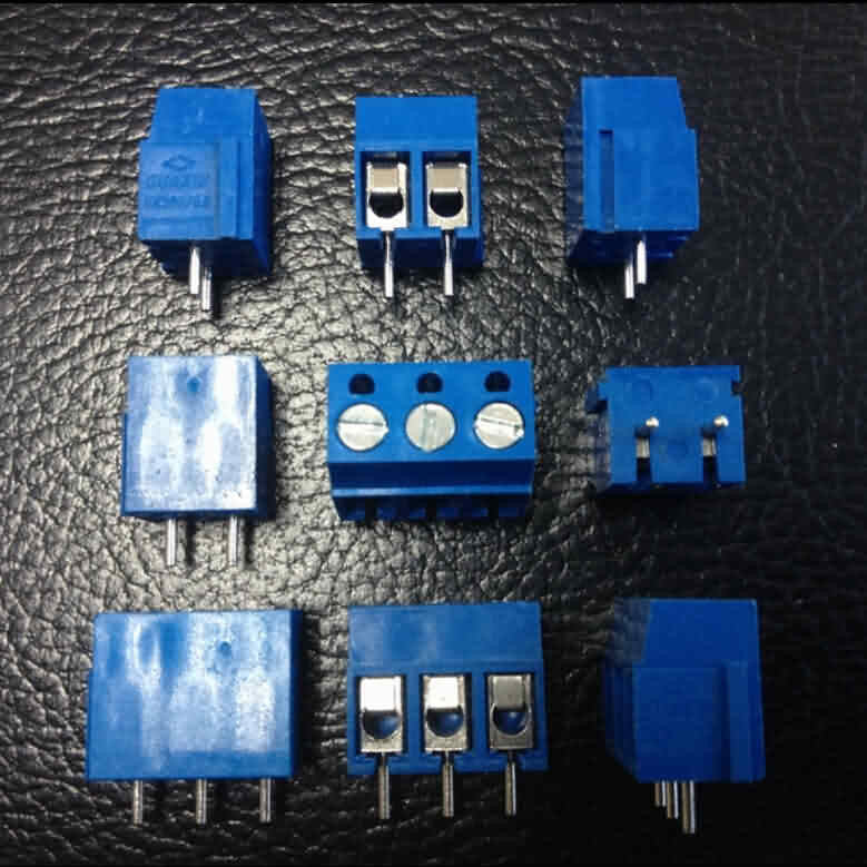 Firgelli Robots Screw PCB Terminal Blocks with Straight Pins / Pitch: 2.54mm