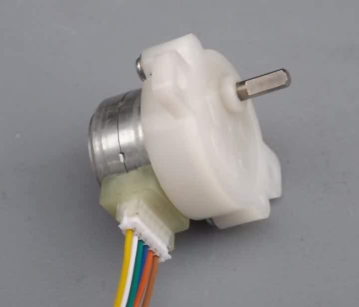12V 2-Phase 4-Wire Stepper Motor with Gear Box