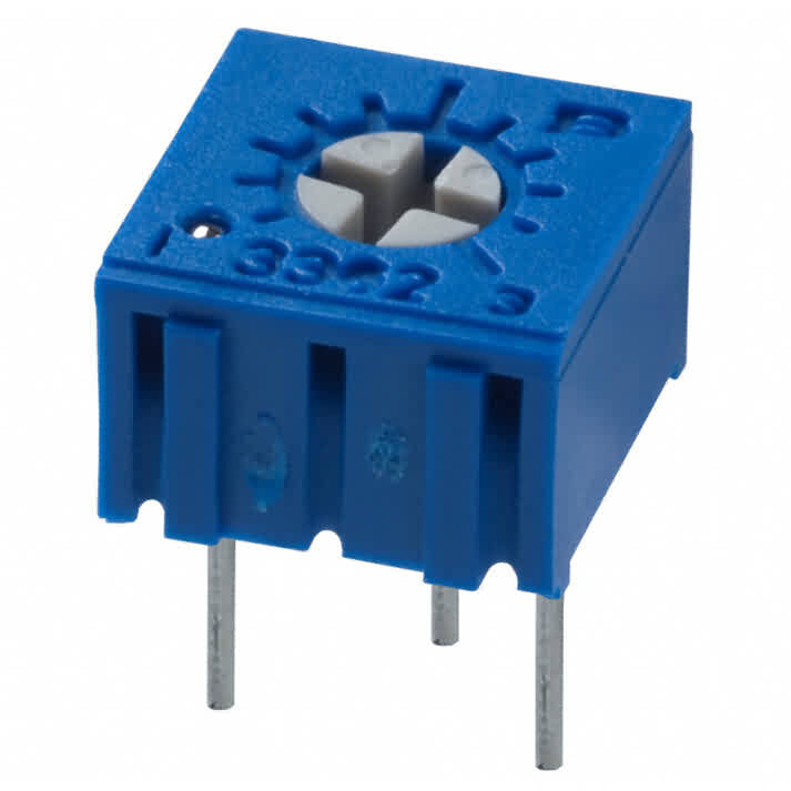 Firgelli Robots Square Trimming Potentiometer - 3362P Series