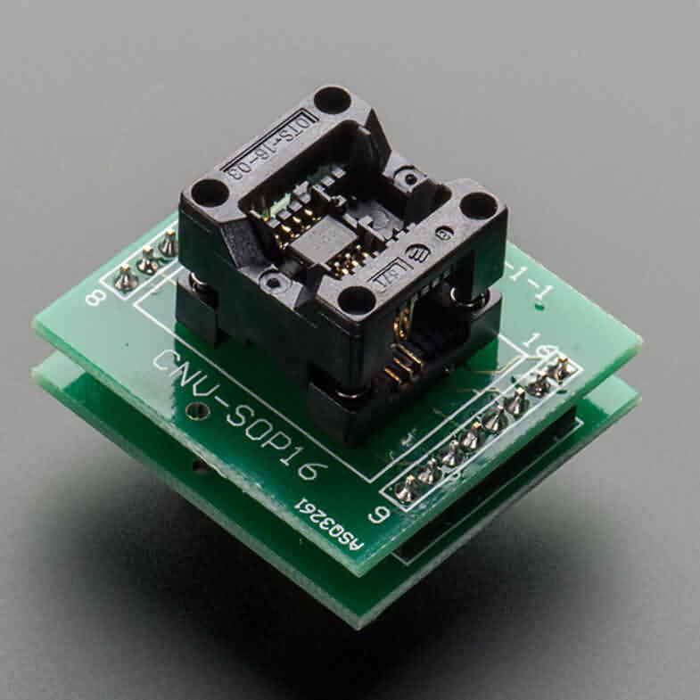 Figelli Robots SMT Test Socket - SOIC-8 Narrow Breakout