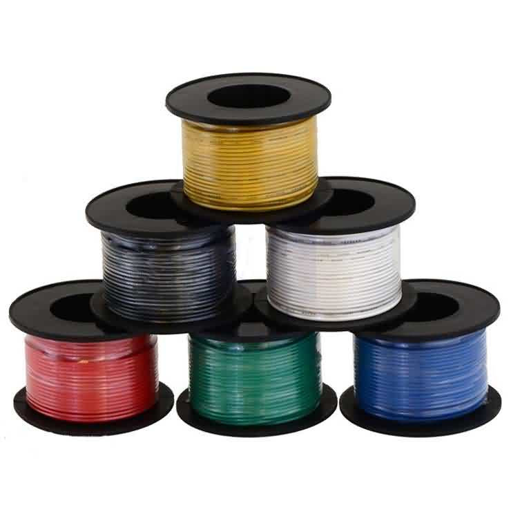 Firgelli Robots Stranded Wire by 6 Colors / AWG:28 / Length: 27 meters(90ft)
