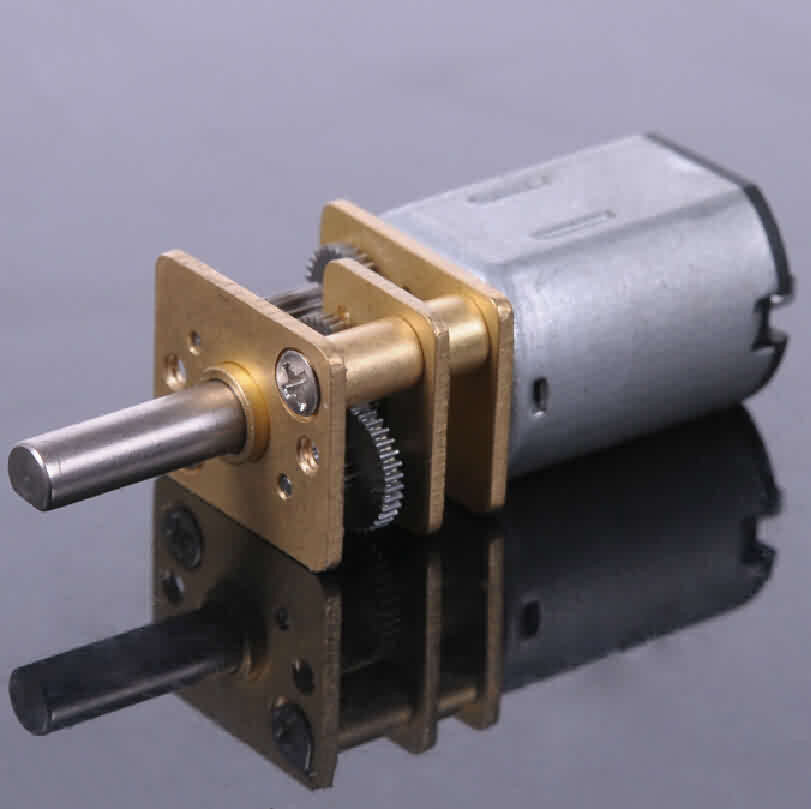 Firgelli Robots N20 Gear DC Motor - 24 * 12 * 10mm / 3mm Output Shaft