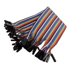 Firgelli Robots 40 Pin Paralled Rainbow Cable with Housing - Pitch: 2.54mm / F-F / F-M