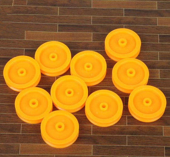 Firgelli Robots Plastic Single Flute Pulley Wheel OD: 16.5mm