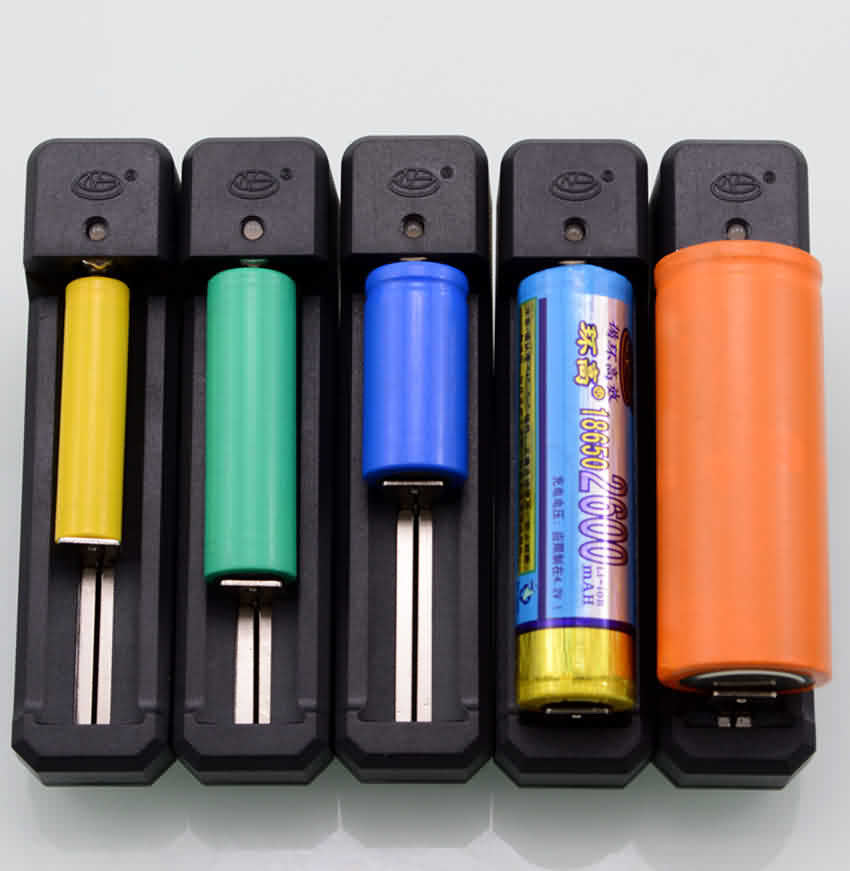 Firgelli Robots 1-slot Lithium Battery Charger