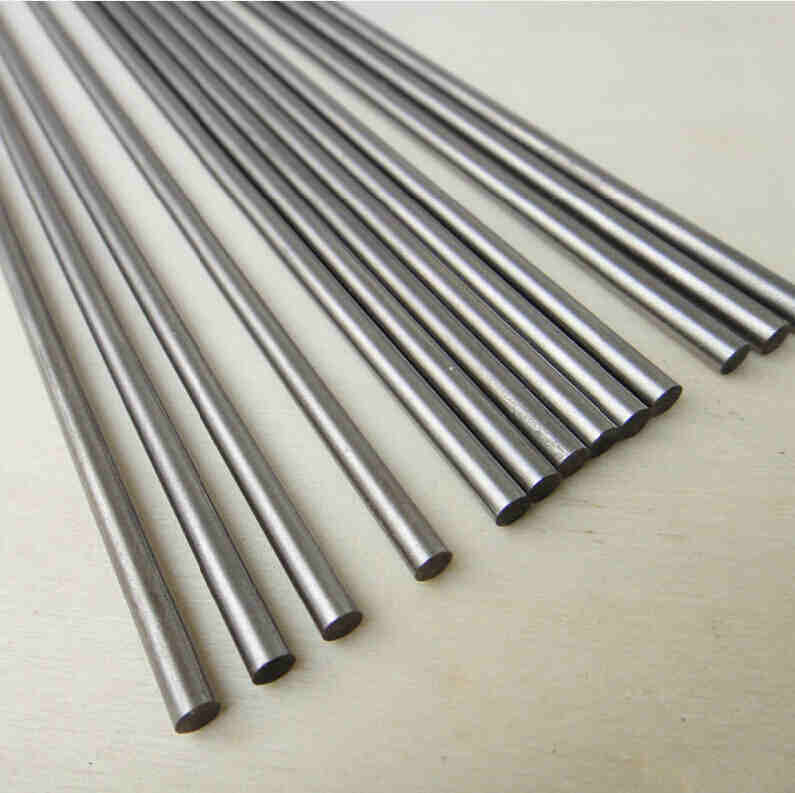 Firgelli Robots Stainless Steel Shaft-No Threads / D: 1~5mm L: 100mm