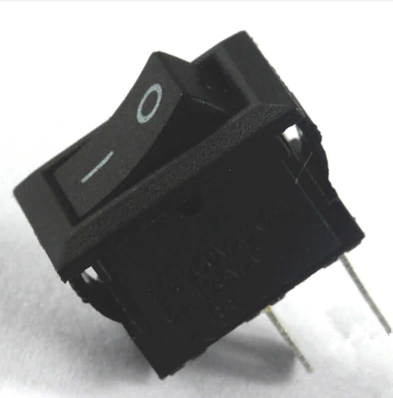 Firgelli Robots Rocker Switch: 2-Pin / 3A