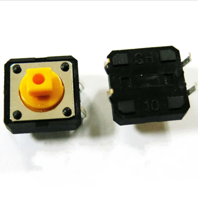 Firgelli Robots Micro Tact Switch - 4 Pin - 12 * 12 * 7.3mm