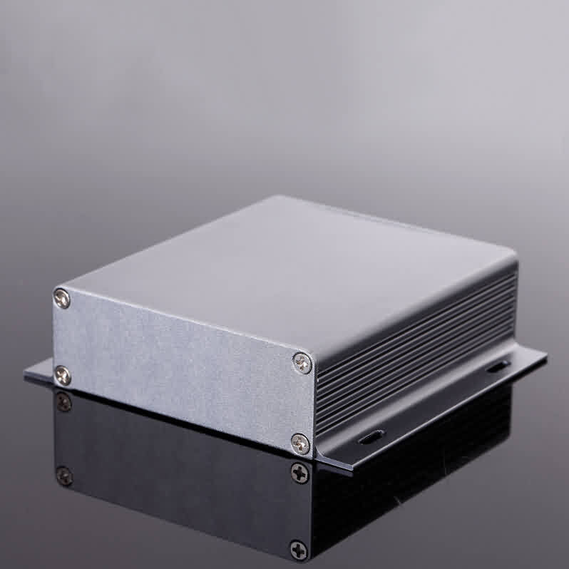 Firgelli Robots Extruded Aluminum Enclosure-W*H*L: 104 * 28 * 95/120mm
