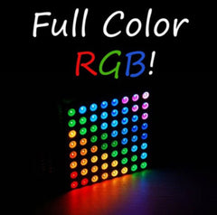 Magic 8X8 RGB LED Matrix Colorduino Kit