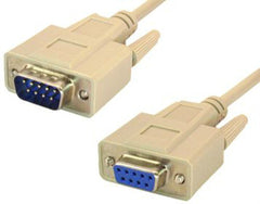 Male to Female RS232 Adapter Cable - 9 Pin