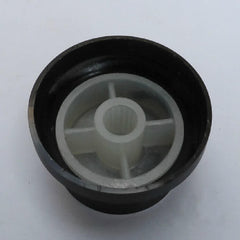 Poly-Aluminum Snap-in Rotary Knob - OD: 30mm / H: 16mm