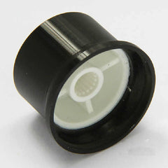 Poly-Aluminum Snap-in Rotary Knob - OD: 26mm / H: 18mm
