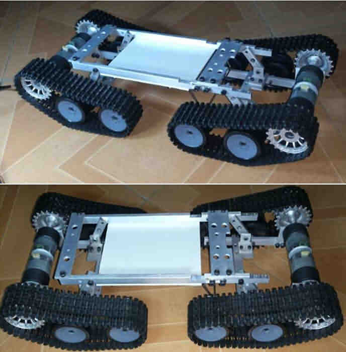 Firgelli Robots Robotic Crawler Mobile Base Kit