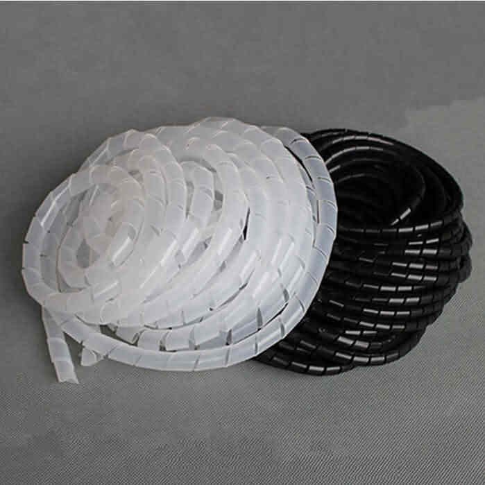Firgelli Robots Spiral Cable Wrap - Diameter: 4~30mm