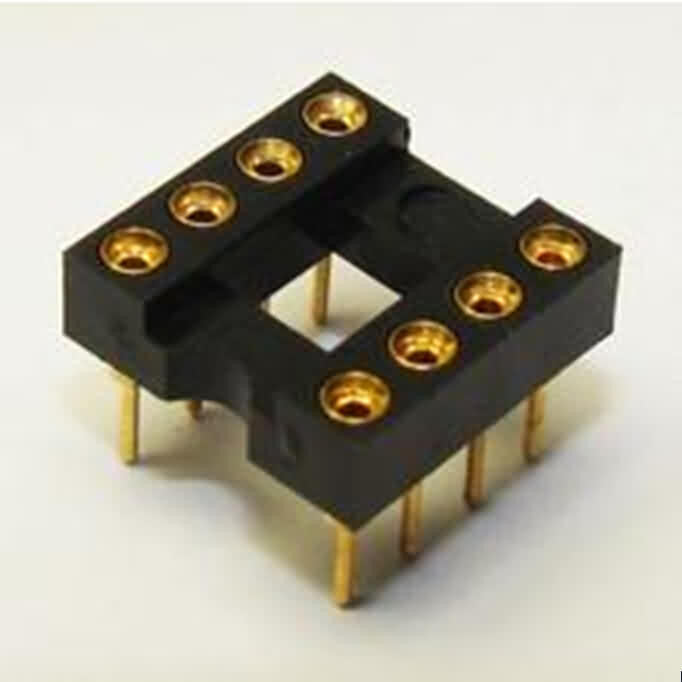 Firgelli Robots Standard Wire Wrap IC Sockets with Fully GOLD-PLATED CONTACTS-Position: 6~48