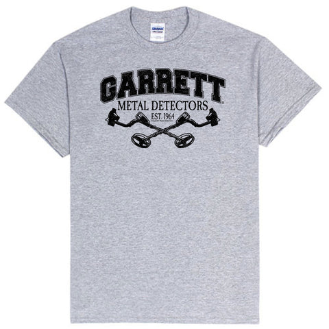 Garrett Metal Detecting on sports gray