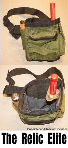 Relic Elite Detecting Bag