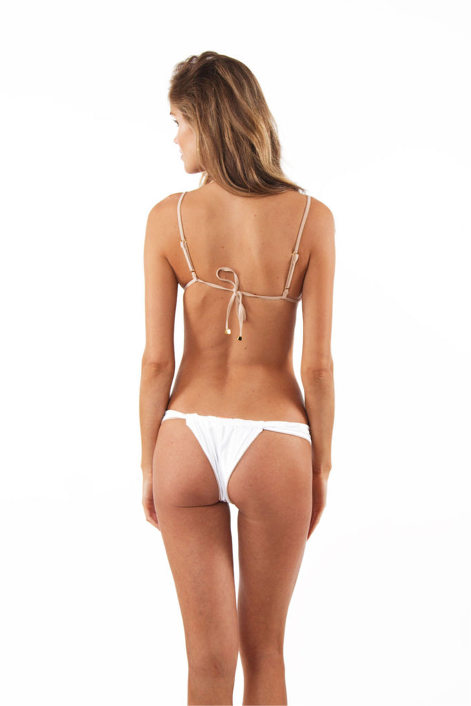 The Innuendo Bottom Nude / White