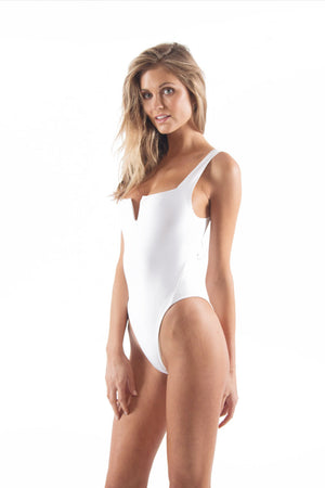 The Bombshell One Piece White