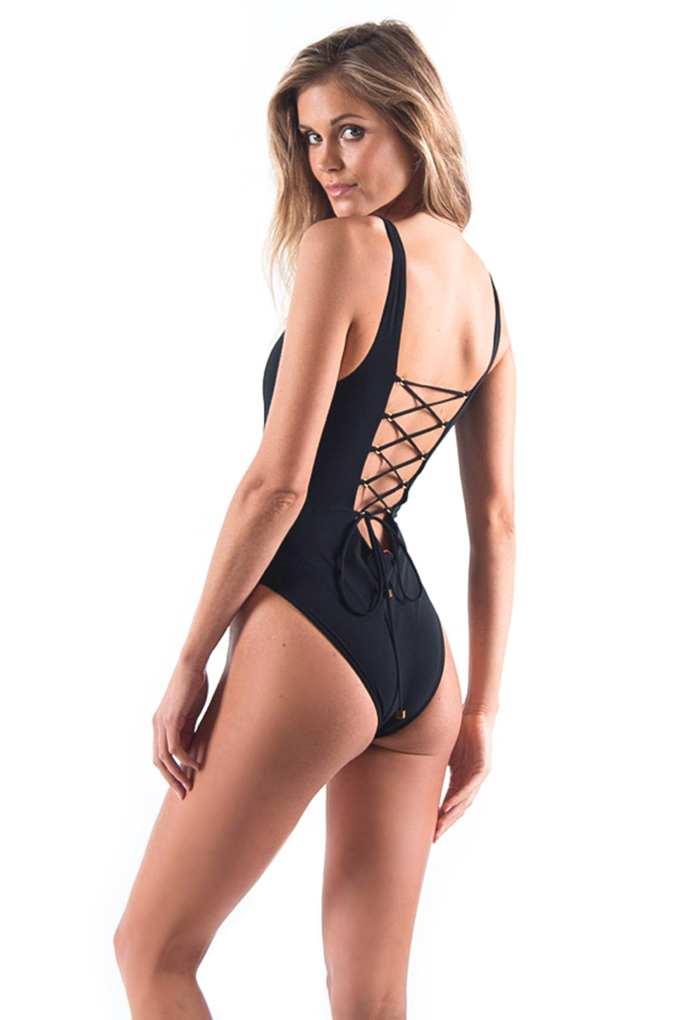 The Bombshell One Piece Black