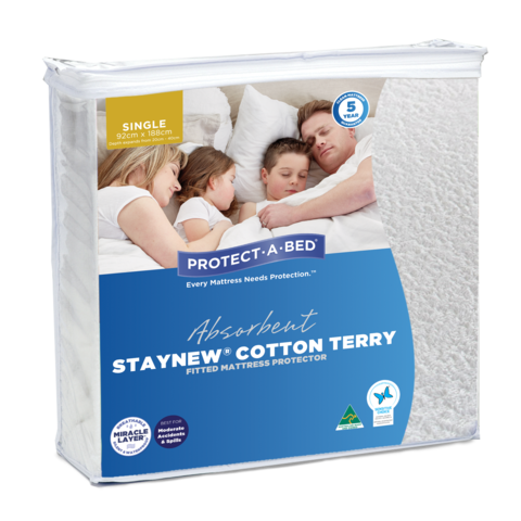 Staynew Terry Mattress Protector