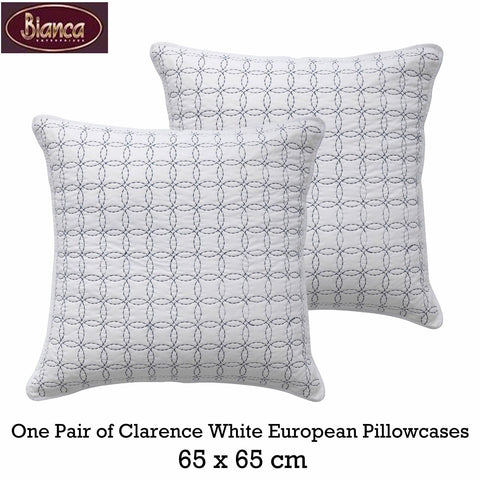 Clarence Euro Pillowcase