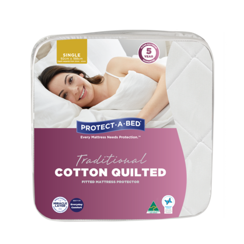 Cotton Quilted Mattress Protector