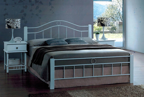 Crystal Bed White